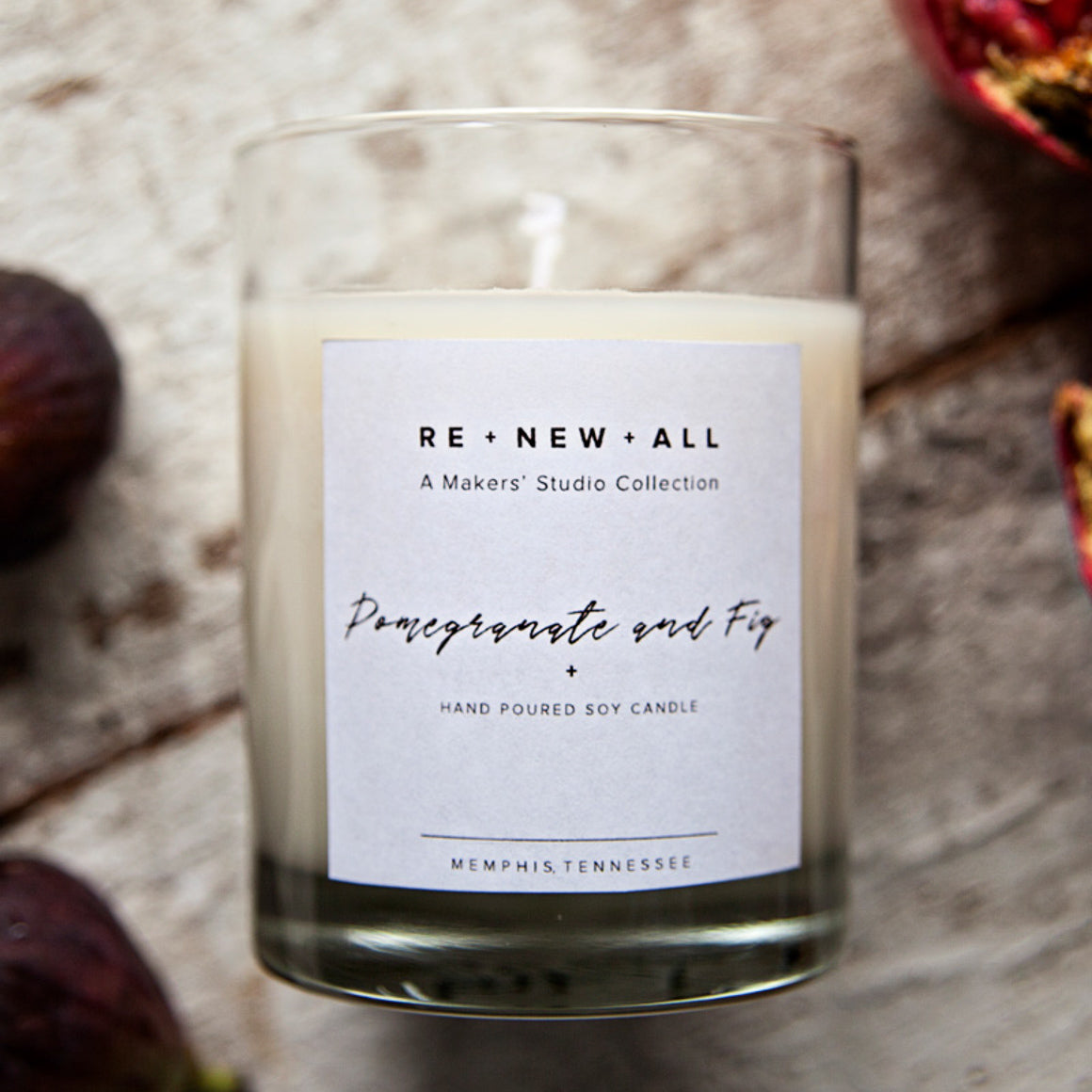 Candle - Pomegranate and Fig