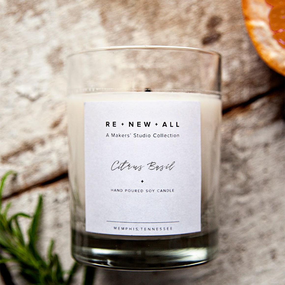 Candle - Citrus Basil