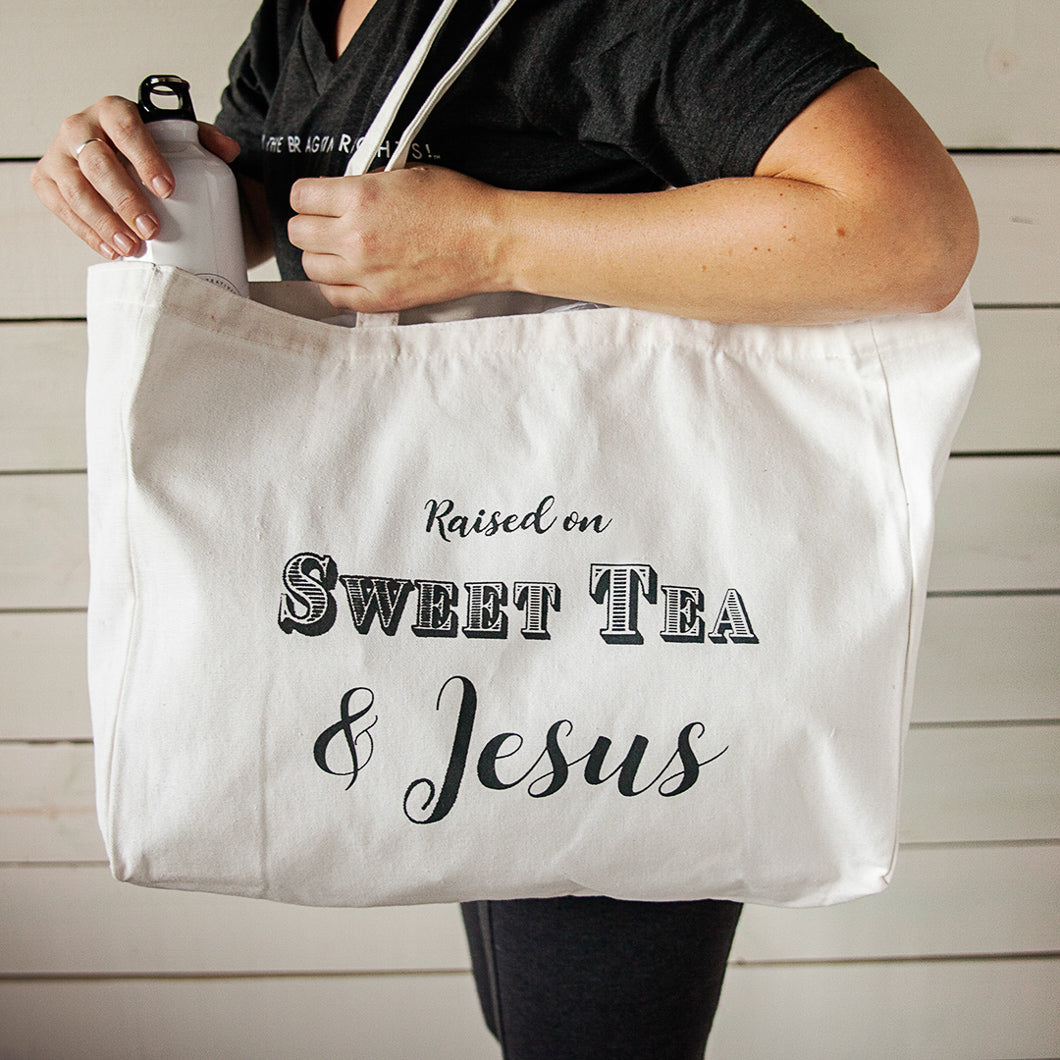 Sweet Tea & Jesus Tote Bundle