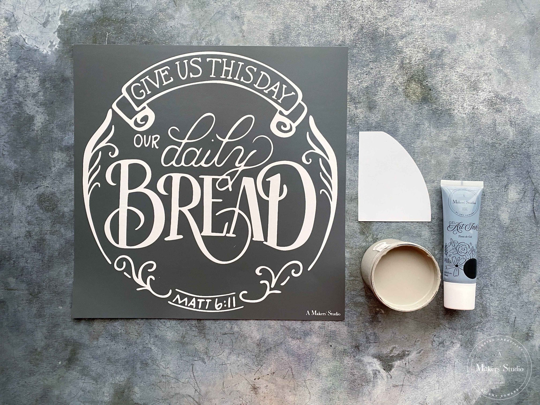 Daily Bread Wall Hanging Project