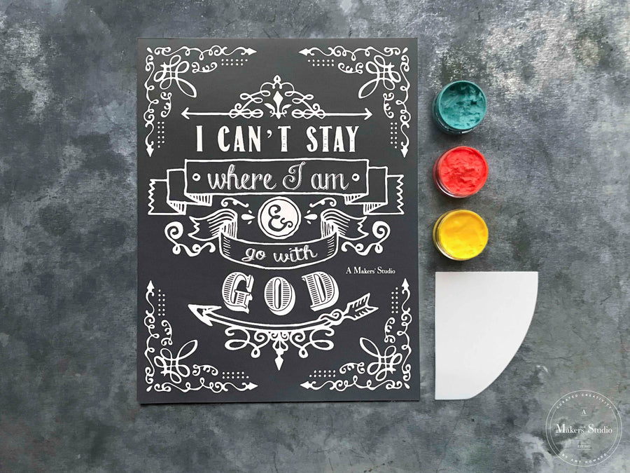 Go with God Shirt Kit