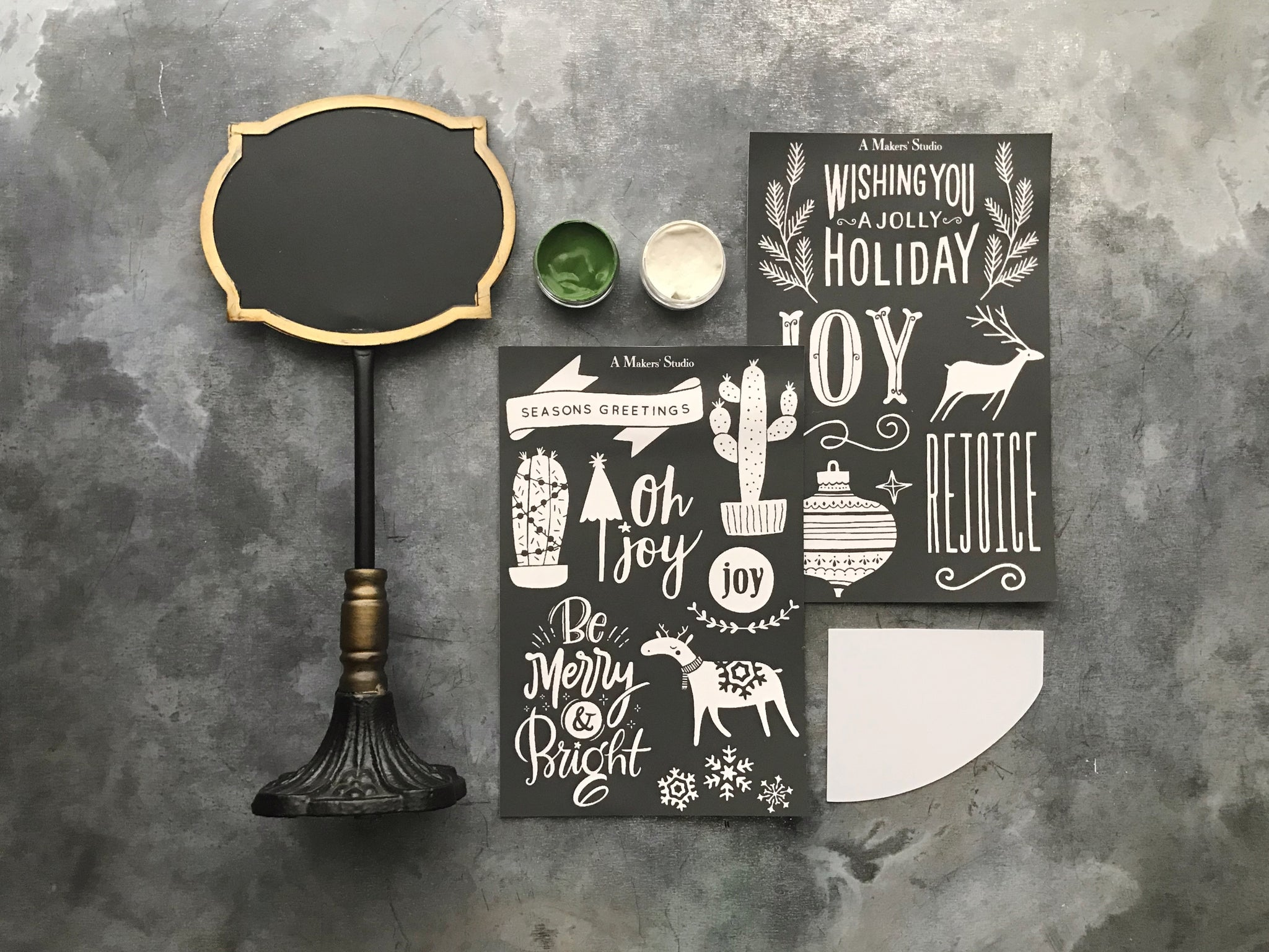 Joy Chalkboard Kit