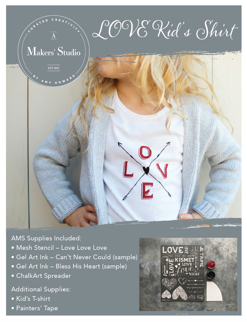 LOVE Kid's Shirt Kit