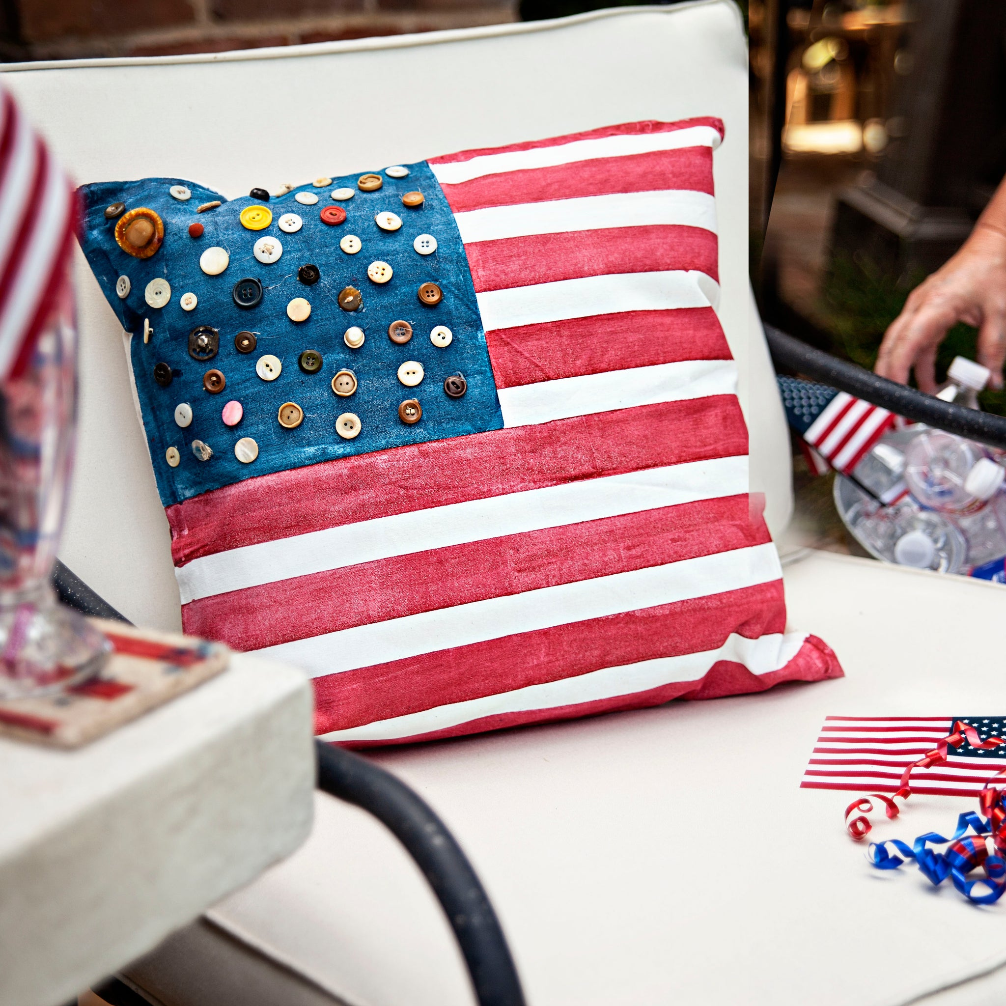 DIY American Flag Pillow Bundle