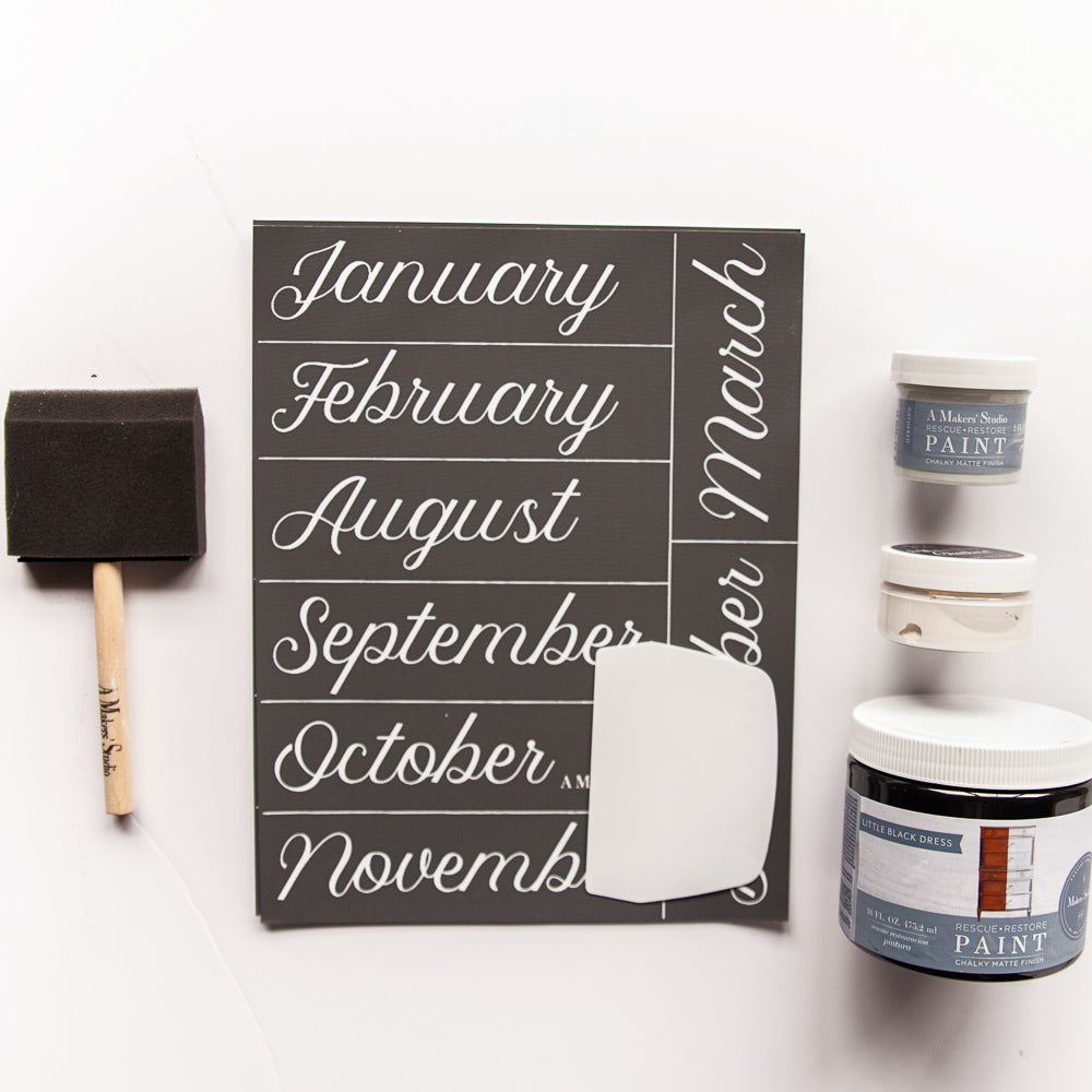 DIY Weekly Calendar Bundle