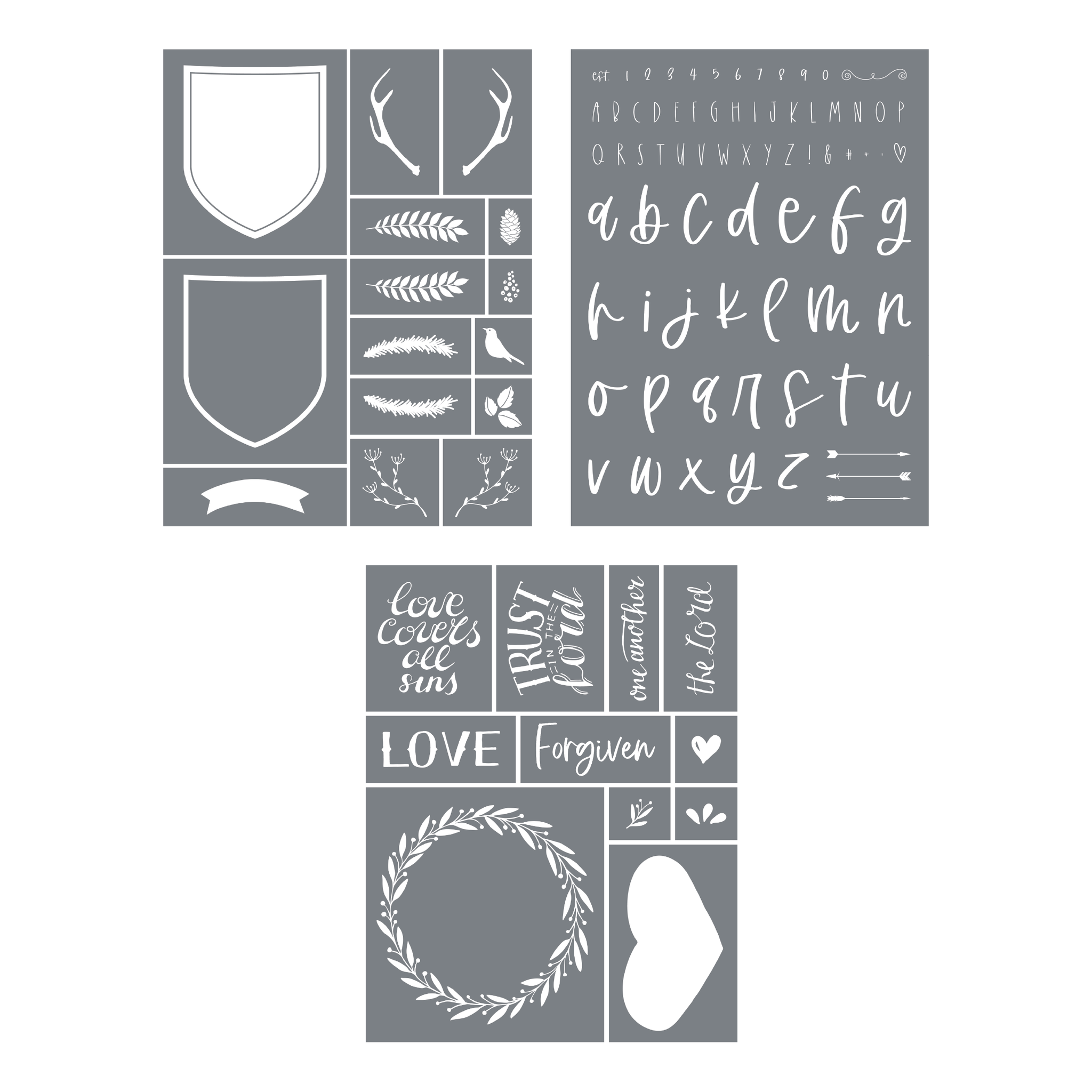 New Stencil Bundle 1 | July 2020