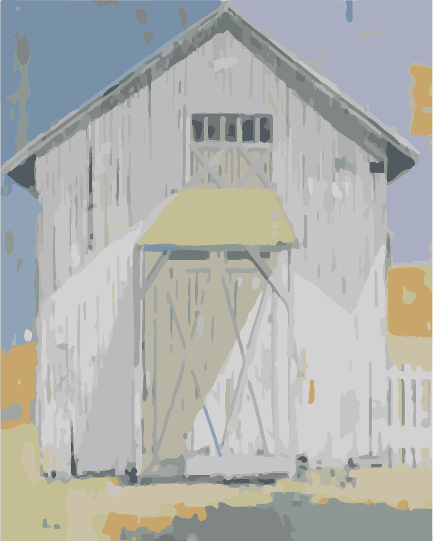Barn - Paint By Number 16x20