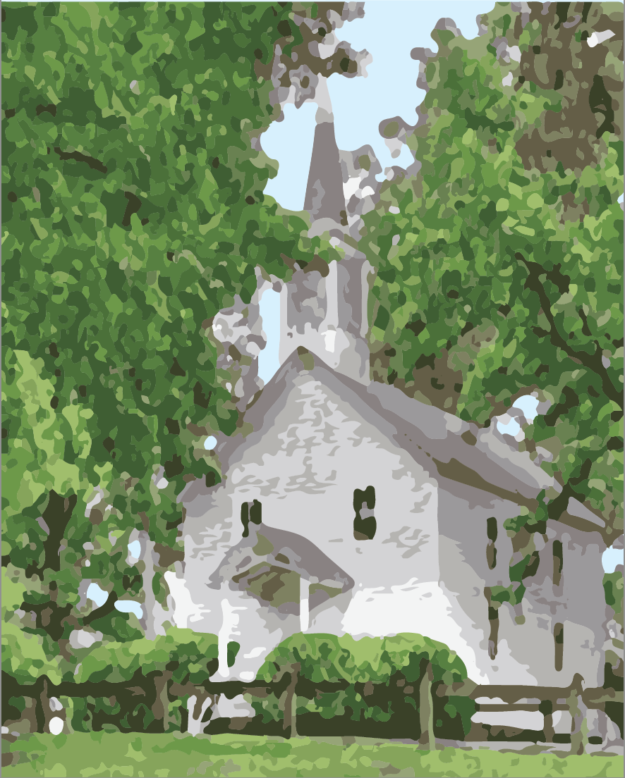 Chapel - Paint By Number 16x20