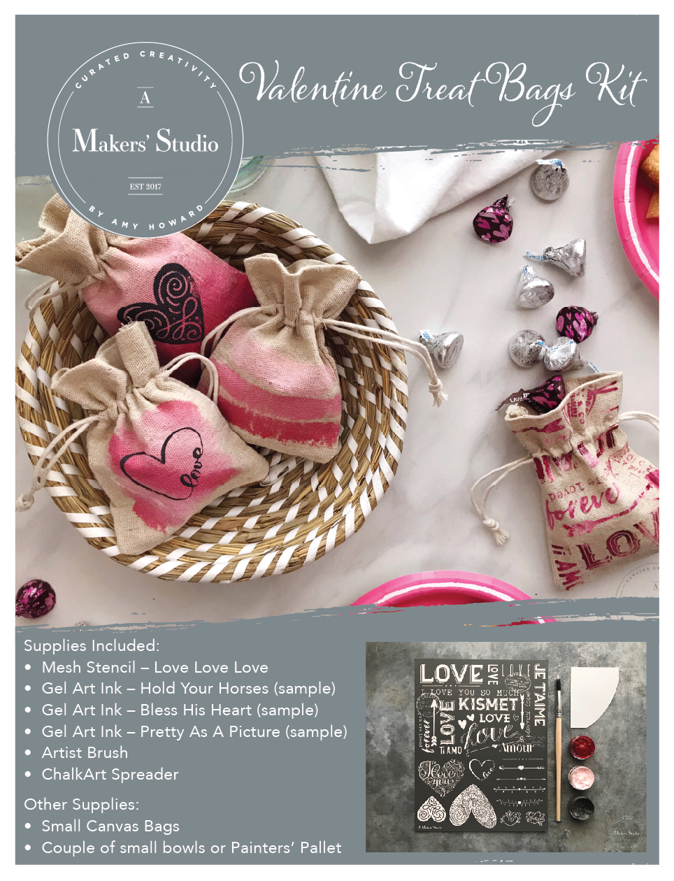 Valentine Treat Bag Kit