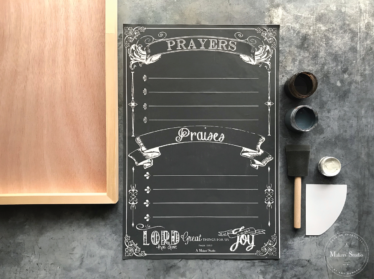 Maker Class - Prayer Board Kit