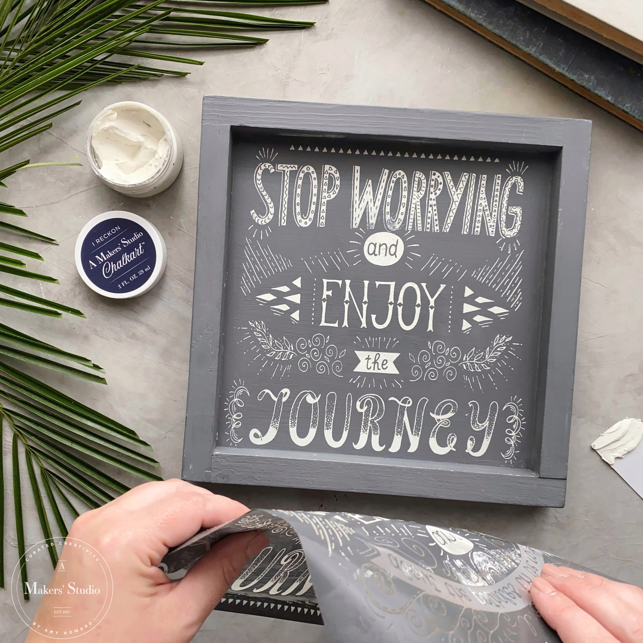 Stop Worrying Stencil Bundle