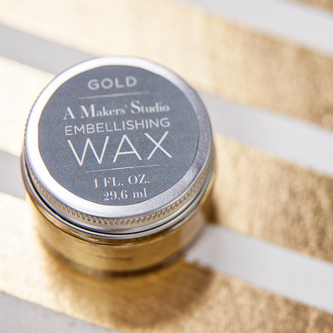 Gold Embellishing Wax - 1 oz.