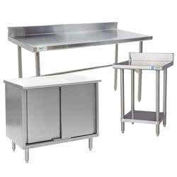 Commercial Work Tables and Prep Stations