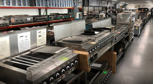 We have over $35 million worth of equipment in our Laurel, MD Showroom/warehouse.