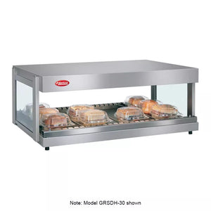 "Hatco GRSDH-41 Self-Service Countertop Heated Display Shelf, 41"", (1) Shelf, 120v"