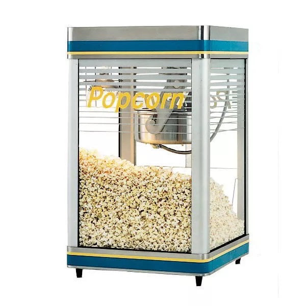 Star G18-Y Countertop Popcorn Machine, 18 oz, Infrared Heat Lamp, 240v/1ph