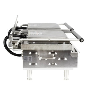 "Star GX20IGS 20"" Double Commercial Panini Press, Cast Iron Grooved Left/Smooth Right Plates, 208-240v/1ph"