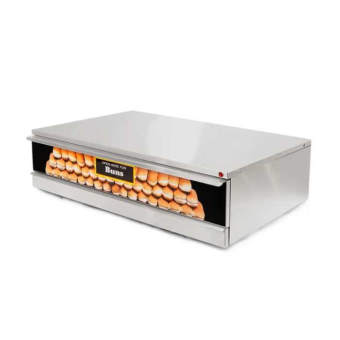 "Star SST-50 Grill Max 35.75"" Hot Dog Bun Warmer, 64 buns, 120V"