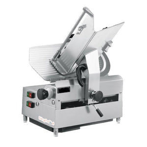 "Skyfood 1212E - 12"" Automatic Slicer, Single Speed, Full Stroke, 12"" dia., Max. 0.5"" Slice, 45 Stroke/min., 1/2 HP Blade & 1/4 HP Carriage Motor, 110V"