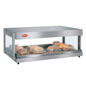 "Hatco GRSDH-36 Glo-Ray 36"" Horizontal Single Shelf Merchandiser - 120V"