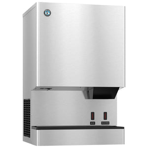 Hoshizaki DCM-500BAH 618 lb Countertop Nugget Ice & Water Dispenser - 40 lb Storage, Cup Fill, 115v