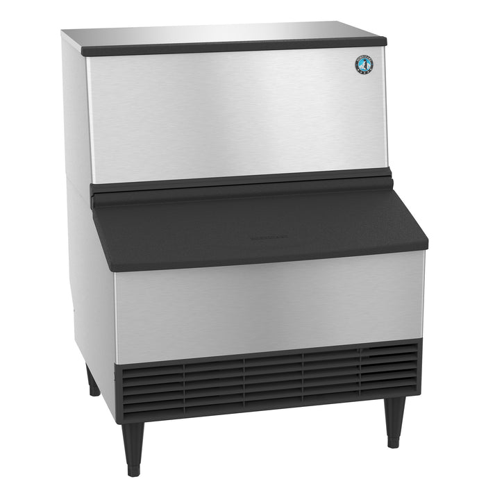 Hoshizaki KM-230BAJ 230 lb. Crescent Cube Ice Maker with Bin - 80 lb. Storage, Air Cooled, 115v