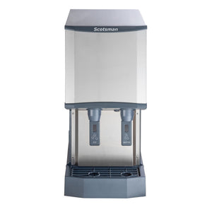 Scotsman HID312A-1 260 lb Countertop Nugget Ice & Water Dispenser - 12 lb Storage, Cup Fill, 115v