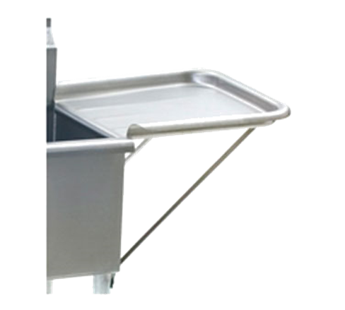 "Eagle Group 18X24 RRDEDB-16/3 - Drainboard, Detachable, Rolled Rim, 16/304 Stainless Steel - 24""W x 18""D"