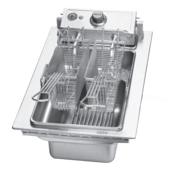 Wells F-556 Drop-In Electric Fryer - (1) 15 lb Vat, 208v/1ph