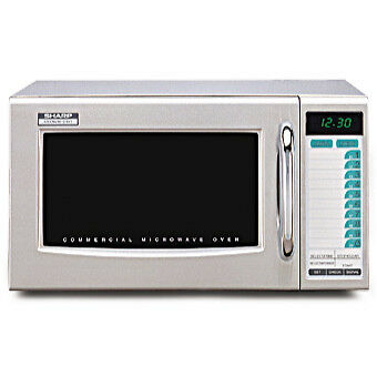 Sharp 1000W/R-2LTF Microwave - 120V