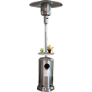 Omcan 23578 Stainless Steel Round Patio Heater, LP