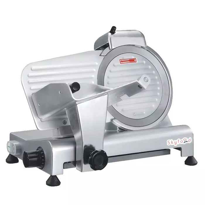 "Skyfood GL250 Compact Economy Slicer w/ Gravity Feed, 10"" Diameter, .5"" Thick"