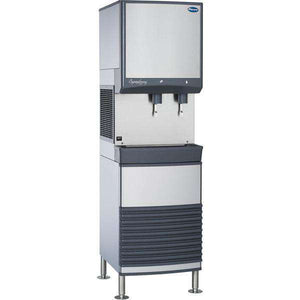 Follett 25FB425A-L Nugget Ice & Water Dispenser 425-lb/24 hour, Freestanding, 25 lb Bin, Air Cooled, 115v