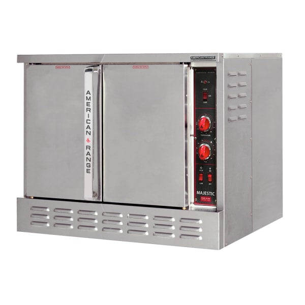 American Range ME-1 Bakery Depth Single Full Size Electric Convection Oven - 12kW, 208v/1ph [Usually ships within 9 - 13 business days]