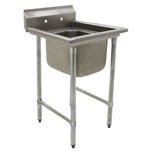 "Eagle Group 414-16-1 23.25"" One Compartment Sink, 16"" x 20"", 13.5"" deep, stainless steel"