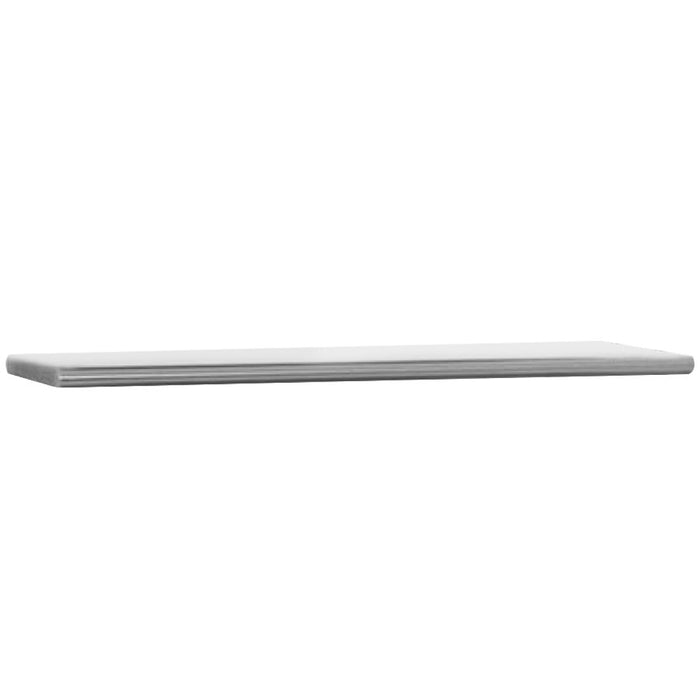 "Eagle Group 421505 - Overshelf, Flex-Master 15"" x 79"" Single Overshelf for 5-Well Hot Food Tables"