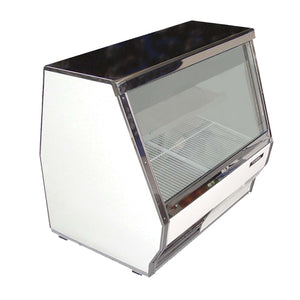 "Fogel USA 5008-SC - 96"" Display Case, Refrigerated Deli, self-contained refrigeration, 58 cu. ft. capacity"