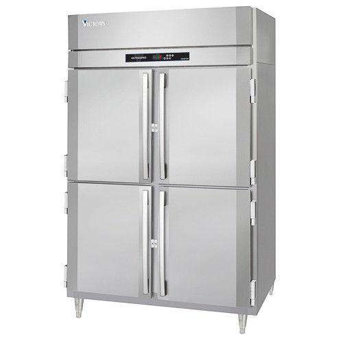 Victory Freezer FS-2D-S1-HD UltraSpec Series, 4 Half-Doors 2 Sections, 115V