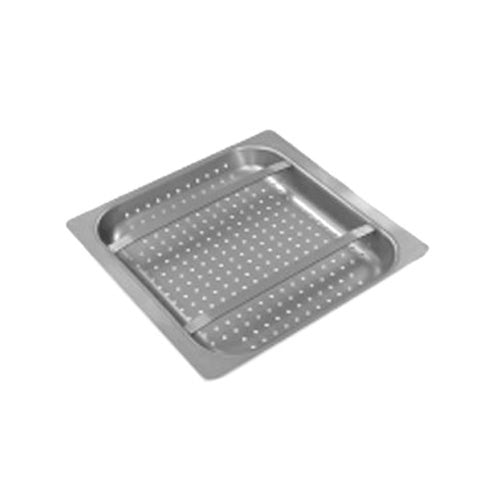 "Eagle Group 606434 19 1/2"" x 17 1/2"" Pre-Rinse Basket with Slide Bar"