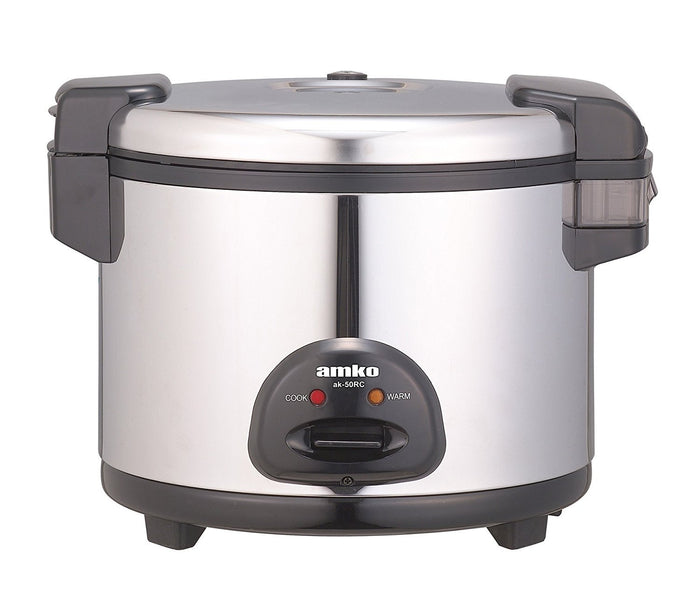 AMKO AK-50RC - Rice / Grain Cooker, 30 Cups Electric Rice Cooker and Warmer