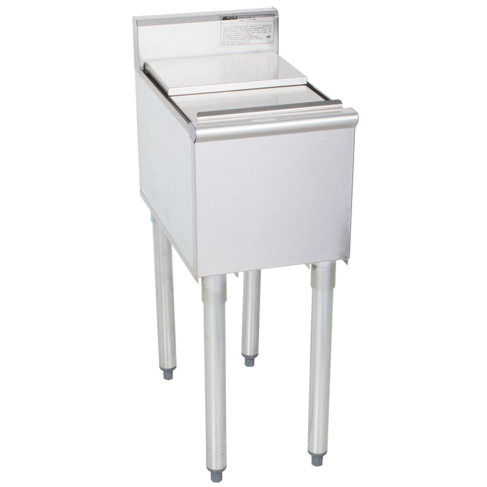 "Eagle Group B12IC-18 - 12"" Ice Bin, 1800 Series Underbar Ice Chest Unit, 14 Lb. Capacity"