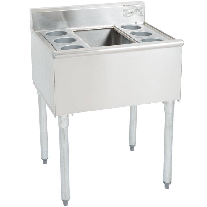 "Eagle Group B2CT-18 - 24"" x 20"" Ice Bin, Underbar Cocktail Unit"