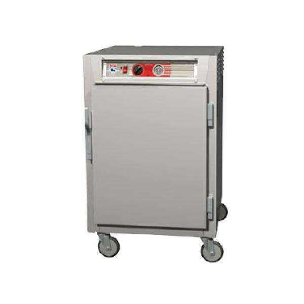 "Metro C565L-NFC-UPFS - C5 6 Series Heated Holding Cabinet, 29.13"" Mobile, 1/2 Height Pass Thru, Insulated"