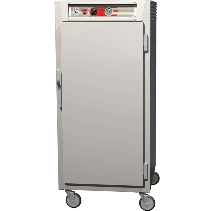 Metro Mobile Heated Cabinet C567-SFS-U 3/4 Height Insulated  w/ (13) Pan Capacity, 120v