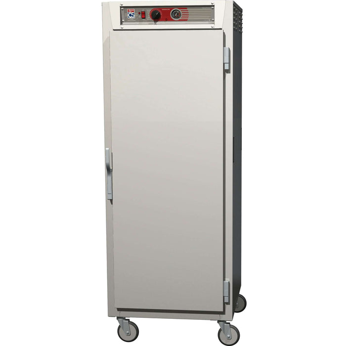 "Metro C569-SFS-UPFS C5 6 Series Heated Holding Cabinet 29.13"" Full Height Reach-In Pass-Through, Solid Doors, 120V"