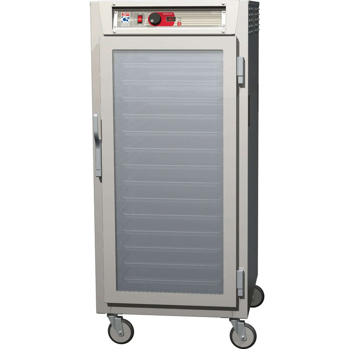 Metro C587-NFC-L 3/4 Height Insulated Mobile Heated Cabinet w/ (27) Pan Capacity, 120v