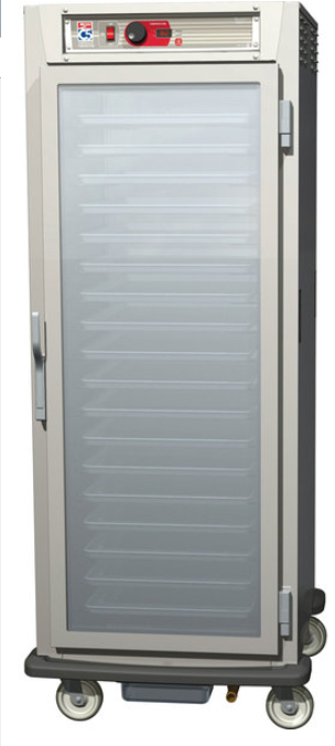 Metro C589-NFC-LPFS - C5 8 Series Controlled Temperature Holding Cabinet, Mobile, Full Height Pass Thru, Insulated, 120v