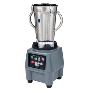 Waring CB15T - Commercial Food Blender, (1) Gallon Capacity, 3-speed With Timer, Stainless Container, 3.75 HP - 120v/60/1-ph