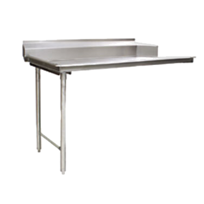 "Eagle Group CDTL-30-16/3-SL-X - 30"" Clean Dishtable, right-to-left operation, straight design"