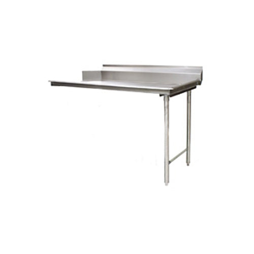 "Eagle Group CDTR-72-16/4 - 72"" Clean Dishtable, Left-to-right Operation, 16/430 Stainless Steel, 8"" Backsplash"